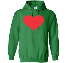 Valentines Day Heart T Shirt - Giant Heart Shirt Costume