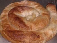 Bosanski Burek: Bosnian Meat Pie.