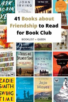 If you are looking for book club books about friendship, you've come to the right place. Celebrate the joy of friends with these 41 best books about friendship.