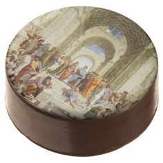 #Raphael - The school of Athens 1511 Chocolate Dipped Oreo - #Chocolates #Treats #chocolate