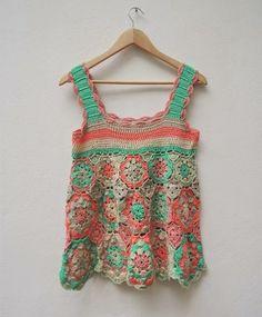 vestidos para bebes para invierno a crochet diseño y arte - Buscar con Google