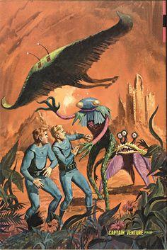 GEORGE WILSON - art for Captain Venture #2 - Oct 1969 Gold Key Comics