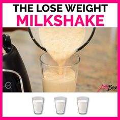 The Lose Weight Milkshake weight loss breakfast weight loss meal weight loss organization weight loss shake weight loss smoot Weight Loss Shakes, Weight Loss Detox, Weight Loss Drinks, Weight Loss Smoothies, Easy Weight Loss, Energy Smoothies, Protein Shake Recipes, Smoothie Recipes, Workout Protein