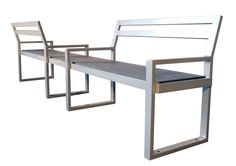 Skyline Double Seat Park Bench - Park Benches and Chairs At Wishbone, benches are so much more than just benches . Outdoor Chairs, Outdoor Furniture, Outdoor Decor, Skyline 2, Dining Bench, Relax, Prince Charles, Benches, Home Decor