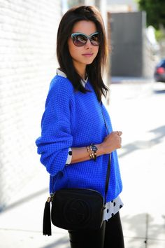 The VivaLuxury | Casual Cobalt