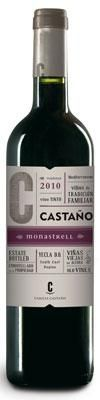$11.29 (-1)Castano Monastrell Spain One whiff of the dark fruit told me I was in for a treat. My fellow taster also pointed out the aroma of tobacco.The flavour of cherries hits with your first taste. Then its plums which carries through to the finish. Its a smooth, medium bodied wine made from the monastrell grape which in other regions is called mourvedre. We drank it with a spinach and feta pizza and it was a great match