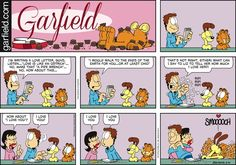 Garfield Comic Strip February 14 2016 on GoComics.com