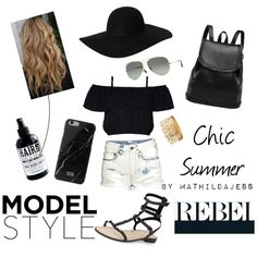 Cool for the summer by mathildajess on Polyvore featuring polyvore, fashion, style, H&M, Rebecca Minkoff, Charlotte Russe, Monki, Ray-Ban, Native Union and The Gnarly Whale
