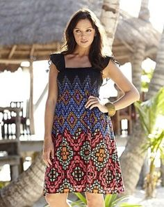 Daster Batik Trusmi Cirebon · Aztec Print Dress at Simply Be Best Summer  Dresses 4206df3789