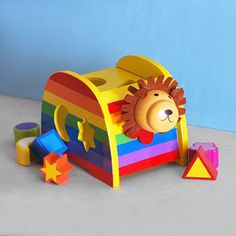 Lion Shape Sorter Toy