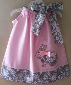 Pillowcase Dress Pattern, Pillowcase Dresses, Baby Easter Dresses, Baby Girl Dresses, Little Dresses, Baby Dress, Pillow Dress, Sewing For Kids, Baby Sewing