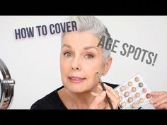 How to cover age spots - Makeup artists tips by Kerry-Lou - YouTube #EyelinerForBeginners Retro Hairstyles, Indian Hairstyles, Headband Hairstyles, Hairstyles With Bangs, Braided Hairstyles, Makeup Artist Tips, Makeup Artists, Eyeliner For Beginners, Beauty Youtubers