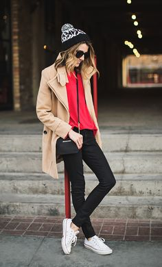 laidback winter look.