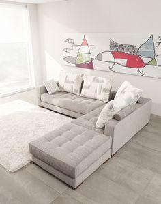 Sofá chaiselonge diseño Modelo Manacor de Fama