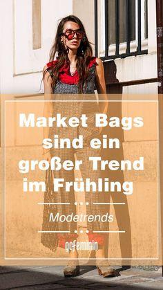 Netztaschen sind der beliebteste Trend im Frühling. #marketbag #netztaschen #makrameetaschen #taschentrends #trends Mode Shop, Market Bag, Boho, Fashion Trends, New Fashion Trends, Two Piece Outfit, Cat Walk, Spring Summer, Styling Tips
