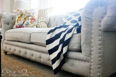 "I LOVE this couch! My checkbook does not. And it wouldn't last a day with my toddler. So I put this on the list of ""someday..."""