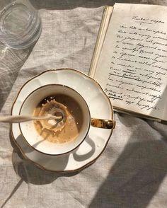 This Ivy House - arychanska Cream Aesthetic, Aesthetic Coffee, Brown Aesthetic, Aesthetic Food, Coffee Cafe, Iced Coffee, Coffee Shop, Coffee Tin, Coffee Company
