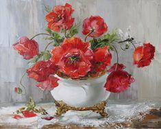 Художница Оксана Кравченко. Маки и другие цветы - Anneta2012