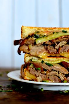 Peking Duck Grilled Cheese | The Woks of Life