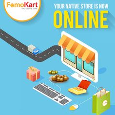 We are finally here! Check out our website www.fomokart.com to order sweets and savouries from the best of India.