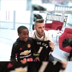 No matter which team you support, this is just beautiful! ❤  Credit Manchester United Foundation