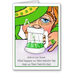 Hilarious Irish Birthday Card