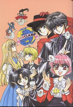 CLAMP, Duklyon: CLAMP School Defenders, CLAMP School Detectives, Fushigi no Kuni no Miyuki-chan, Legend of Chun Hyang, RG Veda
