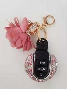 Bling Bedazzled Mini Cooper Key Cover with Rhinestones- Pin – Carsoda Mini Cooper Accessories, Bling Car Accessories, Audi Tt, Ford Gt, Cooper Car, Car Key Holder, Volvo, Peugeot, Mini Countryman