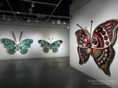Butterfly Of The Trash By Michelle Stitzlein