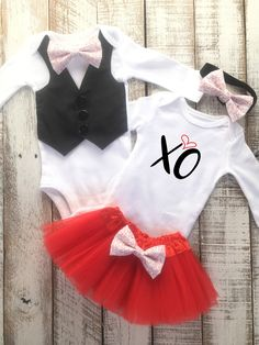 daae8b840 Brother and Sister Matching Valentines outfits perfect for siblings or boy  and girl twins. Black