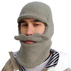 crocheted winter beard?