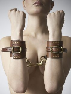 Discover designer lingerie, luxurious bondage & seductive sex toys to fuel your erotic imagination. Designer Lingerie, Luxury Lingerie, Women Lingerie, Nude Photography, Alternative Fashion, Brown Leather, Erotic, Bling, Chain