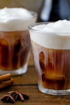 Spiced Iced Coffee -