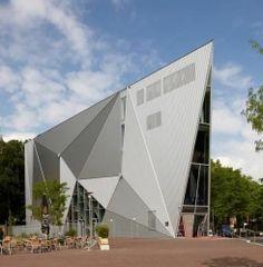 corrugated sheet metal roofing panel EURABUILD: POPPODIUM DE VORSTIN EURAMAX COATED PRODUCTS