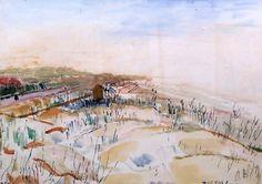 Henri Victor Wolvens. 1896-1977. Le Zoute.  1960.  Ixelles.  Musée des Beaux…