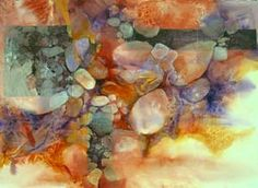 Karlyn Holman-Watercolor paintings, classes and Karlyn's Gallery in Washburn Wisconsin. Watercolor Negative Painting, Watercolor Artists, Watercolor Landscape, Abstract Watercolor, Watercolor And Ink, Watercolor Paintings, Watercolors, Abstract Art, Watercolour Tutorials