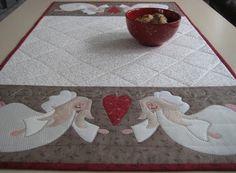 Anne-Grethes quiltblog: AnnAKas engler  /  AnnAKa's angels
