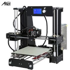 2017 Hot sale!! Easy Assemble Reprap prusa i3 3D printer Kit DIY Anet A6Auto Leveling A8A8 3D Printer With Free Filament (32802040379)  SEE MORE  #SuperDeals