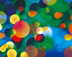 Abstract Colorful Circles Vector Background - http://www.dawnbrushes.com/abstract-colorful-circles-vector-background/