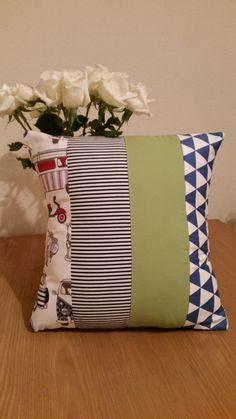 Multi pattern cushion cover