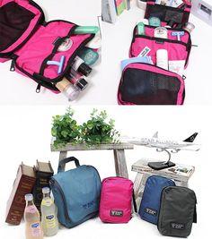 Waterproof Multifunction Portable Wash Bag Travel Cosmetic Makeup Toiletry Purse #Ttravel