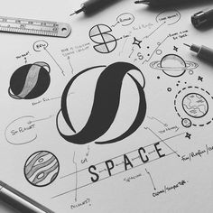 Hand lettering inspiration on a daily basis! Calligraphy and hand lettering for beginners we provide inspirational and educational content on the art of typography! Visit our website to find out more :) Hand Lettering For Beginners, Calligraphy For Beginners, Calligraphy Tutorial, Calligraphy Practice, Calligraphy Letters, Wm Logo, Logo Simple, Logo Sketches, Graphisches Design