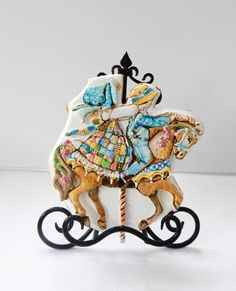 Holly Hobbie merry-go-round cookie.                                                                                                                                                                                 More