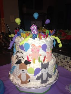 Kipper The Dog Birthday Party Friends Cake 2nd Parties