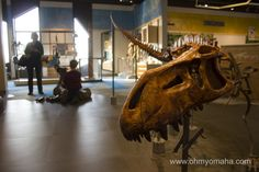 The Discovery Room inside the Museum at Prairiefire was a big hit with the kids - Overland Park, Kansas