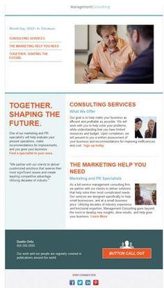 Newsletter template | Design Inspiration | Pinterest | Newsletter ...