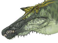 Spinosaurus face