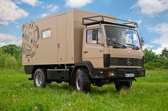 Mercedes 914 Allradwohnmobil