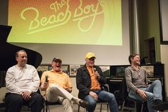 """Indiana University students taking a class on """"The Music of The Beach Boys"""" offered by IU's Jacobs School of Music recently got a special guest lecture from members of the band."""