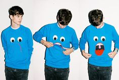 lazyoaf:    Whoa Nelly, how have we only just seen this?!  It's our Shut Your Mouth Sweatshirt!